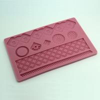 HB0552 New Money Box Silicone Fondant Decoration Mold