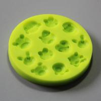 HB0799 SGS certification 4pcs cake decoration silicone molds set high quality