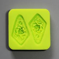 HB0819 Non stick 3D flowers cake decoration silicone mold high quality