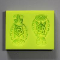 HB0829 3D flowers cake decoration silicone mold high quality Food Grade