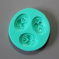 HB0850  Food Grade silicone cake mold for cake decoration with high quality