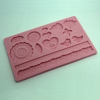 HB0551 Trinket Silicone Cake Fondant Decoration Mold