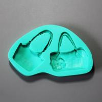HB0929 perfume lay bag silicone mold for cake fondant decoration