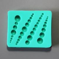 HB0883 Short pearl silicone mold for cake fondant decoration