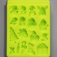 HB0788  Christmas theme silicone mold for cake fondant decorating