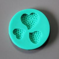 HB0858 Heart shaped silicone mold for cake fondant decoration