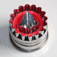 HB0420 Metal Christmas Bell Cutout Plunger Cutter Mold
