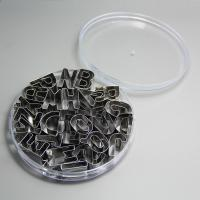 HB0215 26pcs Stainless steel A-Z Alphabet shape cookie cutter set