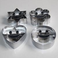 HB0434 Fashion 4pcs Metal Smile Faces Cutout Cookie Cutter set