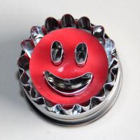 HB0422 Metal Smile Face Cutout Plunger Cutter Mold