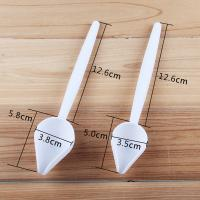 HB0175B Plastic 2pcs Chocolate Decorating Pastry Sweetly Spoon set