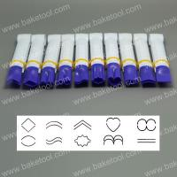 HB0350A  10pcs large size purple color crimpers of variety shape set without teeth