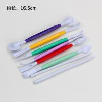 HB0359G New Plastic 8pcs Fondant Fecorating Tools set