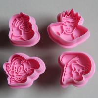 HB0470 Plastic Princess Plunger Biscuit Mold Celebrate items  Fondant Tool