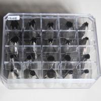 HB0486 20pcs Large Piping Nozzles set in the Diamond box