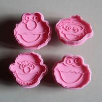 HB0501 Plastic Christmas Toys Plunger Cookie Cutter Set
