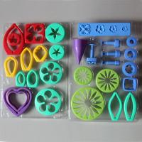 HB0522 Plastic 26pcs Flower Shape Gum Paste Press Mold