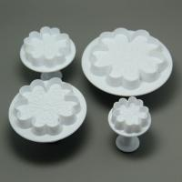 HB0526 4pcs Different Size 5 love Petal Plunger Cutter