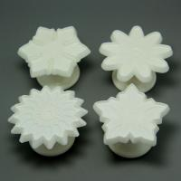 HB0570D 4pcs Flowers Shape Press Mold Cake Fondant Molds,Fondant Cutter