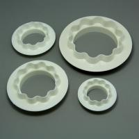 HB0572 Cake Round&Wavy Edge Decoration Set Fondant Cutter