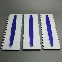 HB0632 Cake Tools 3pcs  Icing Comb Set plastic fondant cake scraper