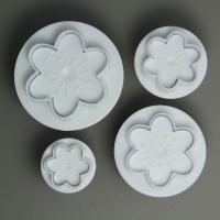 HB0642 4pcs Plum Blossom Mold Plunger Cutter Set
