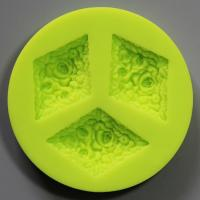 HB0803 flowers silicone  cake mold  cake fondant decorating tools