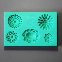 HB0872 Diamond silicone mold for cake fondant decoration