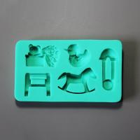 HB0888 Children toys silicone mold for cake fondant decoration