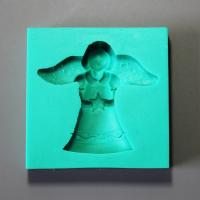 HB0889 Angel silicome mold for cake fondant decoration