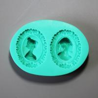 HB0897 Classic beauty silicone mold for cake fondant decoration