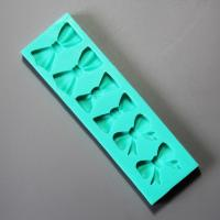 HB0915 Bowtie rectangle silicone fondant mold