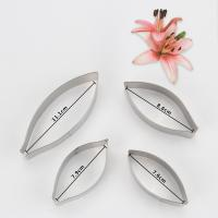 HB0958K 4pcs Stainless Steel Different Flowers and Leaves Shape Cookie Cutters set
