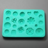 HB0966 Flower silicone mold for cake fondant decoration