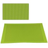 HB1035  Large size Polka dot fondant silicone sugar lace mat