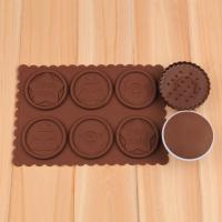 HB1046  Chrismats silicone cookie embosser mold set