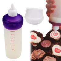 HB1061  silicone bottle candy melt decorating tip set