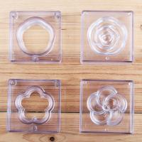 HB01063B Plastic 3D cake fondant dessert mold(rose, peach)