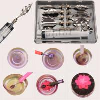 HB1070   10pcs jelly mould syringe tools set