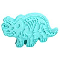 HB1094P Plastic Triceratops Shapes Cake Fondant Press Mold set