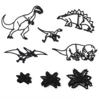 HB1099F Plastic 8pcs Dinosaurs Theme Shape Cake Fondant Press Cookie Cutters Decoration Molds set